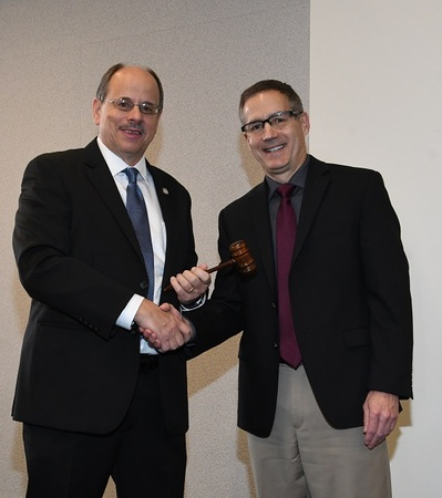 Ohio County Engineers and Staff Awarded State Recognitions, Install New Officers